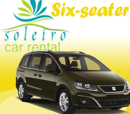 Car Rental Category - Six Seater (Family Cars)