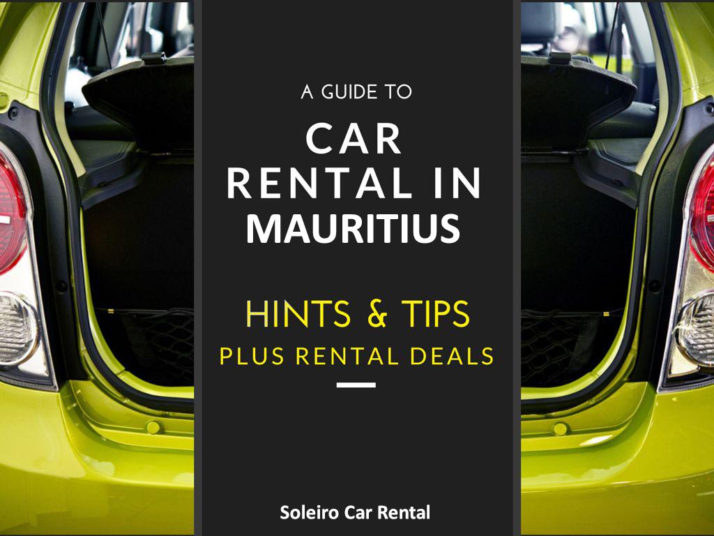 Car Rental Mauritius Tips