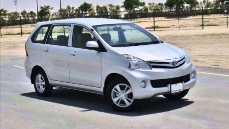 Toyota Avanza - Six Seater (Family Cars) Rental in Mauritius