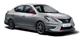 Fleet - Hire a Car Nissan Almera - 2016 in Mauritius